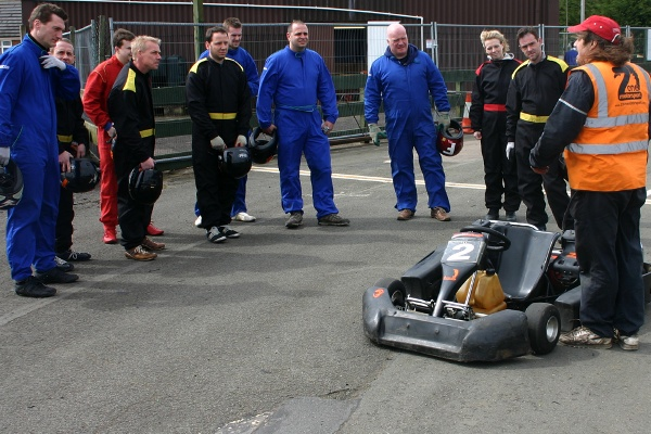 drivers-briefing-karting-at-shenington-near-banbury